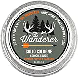 Walton Wood Farm Solid Cologne (The Wanderer) Vegetarian Friendly, and Paraben-Free 2.5 oz