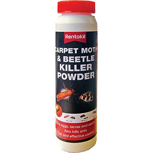 Rentokil PSC50 carpet moth and beetle killer pow