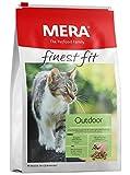 MERA finest fit Outdoor Katzenfutter – Weizenfreies Trockenfutter mit frischem Geflügel und Reis für die bedarfsgerechte Ernährung von...