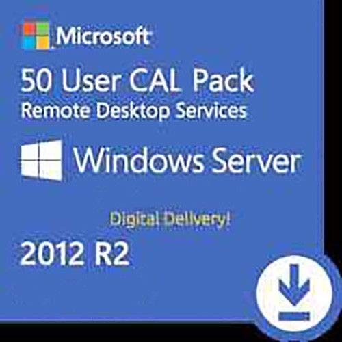 Windows Server 2012 R2 RDS User / Device CAL 50 ESD Key Chiave Licenza ITA Lifetime / Fattura / Invio in 24 ore
