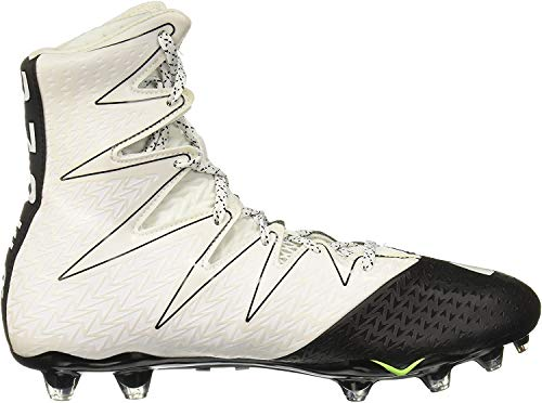 Under Armour New Mens Highlight MC Football Cleats White/Silver Size 9 M