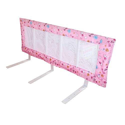 Barrières de lit LHA Garde-Corps de lit d'enfant pour bébé Tête de lit incassable pour bébé, pliable-94cm, 120cm, 150cm (Taille : L-150CM)