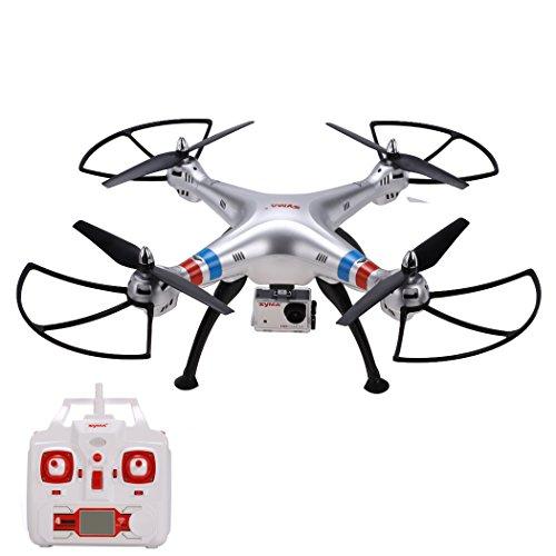 Arshiner Syma X8G RC Drone Quadcopter RTF 4 CH 6 assi Gyro, 2.4 GHz Headless Modalità con FPV 8 MP Videocamera HD da 1080p