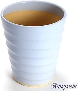 鉢 三河焼 KANEYOSHI 【日本製/安心の国産品質】 陶器 植木鉢 三河焼 フラワーロード スカイブルー 5号