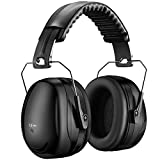 Wowteech Unisex HP056B Gehörschutz, Schwarz, Einheitsgröße