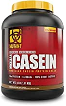 Mutant Micellar Protein Supplement That Helps Build Muscle and Prevent Muscle Breakdown with 24 Grams of Protein Per Scoop, 4 lb – Chocolate Milk