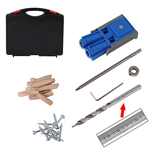 Workmates Spliceable Pocket Hole Jig/Pocket Hole Jig kit System
