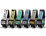 Getsingular Collares de Perro Personalizados con Nombre y teléfono   Diferentes diseños Modernos, para Perros pequeños, medianos y Grandes   Diseño Jipi - Talla M