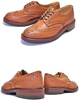 [トリッカーズ] カントリーシューズ M5633 69 COUNTRY BOURTON C.SHADE GORSE バートン フルブローグ 紳士靴 Cシェード ゴース カーフレザー ダイナイトソール ブラウン [並行輸入品]