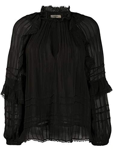 Luxury Fashion   Isabel Marant Étoile Dames HT159820P031E01BK Zwart Viscose Blouses   Lente-zomer 20