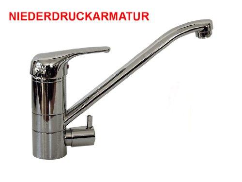 Küchenarmatur Spüle Armatur Wasserhahn mit Geräteanschluss Niederdruck