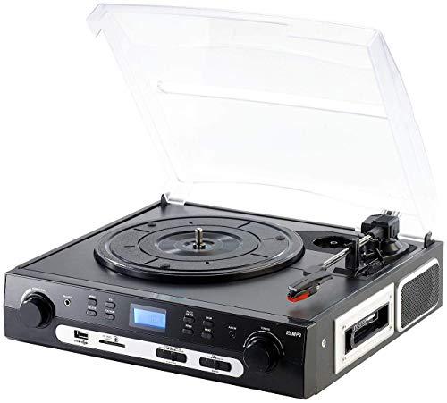Q-Sonic Kassettendeck: Schallplatten- und MC-Digitalisierer + Audio Restaurator Pro 10 (Plattenspieler Digitalisierer)