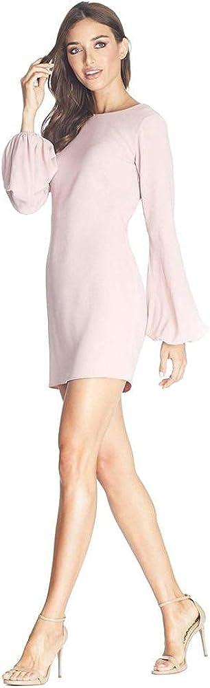 Dress the Population Women's Bodycon, Blush, L