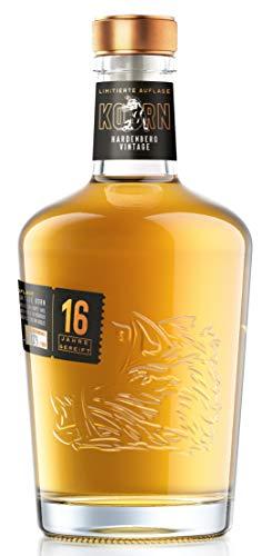 HARDENBERG VINTAGE KORN 16 YO, sechzehn Jahre in traditionellen Eichenfässern gereift, strikt limitiert auf 1012 Flaschen, 38% vol, (1 x 0.7 l)