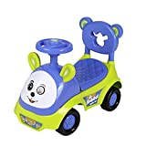 Fun Ride Push Car Rabbit Ride-on Toy Car Rider with Music Horn, Backrest