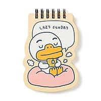 [オフィシャル] カカオフレンズ - ハッピーウィーク ミニスプリングノート KAKAO FRIENDS - Mini Spring Notebook (Tube)