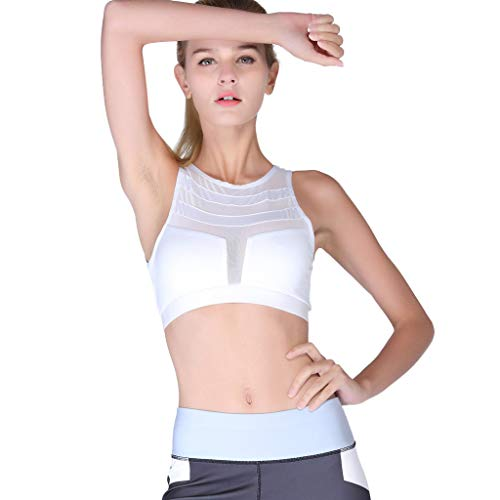 Damen Bustier Bralette Sport BH Push UP Stützfunktion Verstellbare Träger Ohne Bügel Yoga Fitness Schnell Trocknende Atmungsaktive Yoga Sportunterwäsche