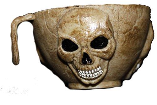 10,2cm gruseligen Gothic Skelett Punch Cup für Scary Punch Schalen, Requisiten für Haunted Houses oder Halloween-Partys.