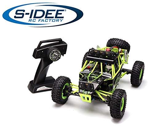s-idee® 12427 RC Auto Buggy Monstertruck 1:12 50 km/h schnell, mit 2,4 GHz