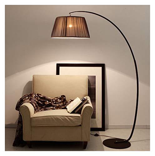 JSJJAER Lampara de pie Lámpara de pie de luz de pie for la Vida luminaria lambader lámpara de pie LED lámpara de pie E27 iluminación de la Sala de Estar Decoración hogareña acogedora