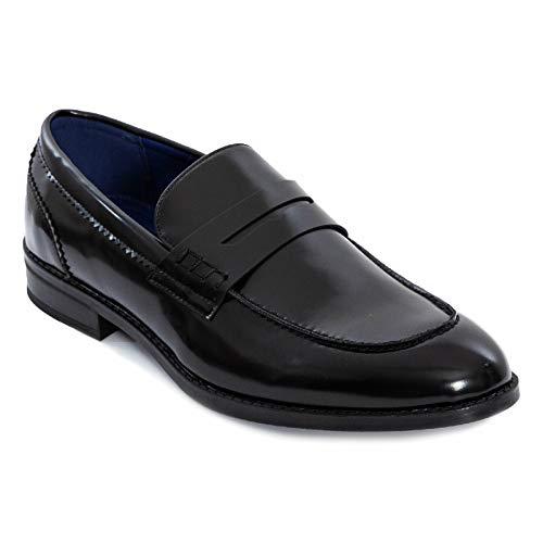 Toocool - Mocassini Uomo Oxford Polacchine Scarpe Uomo Eleganti College Y79 [42,Nero]