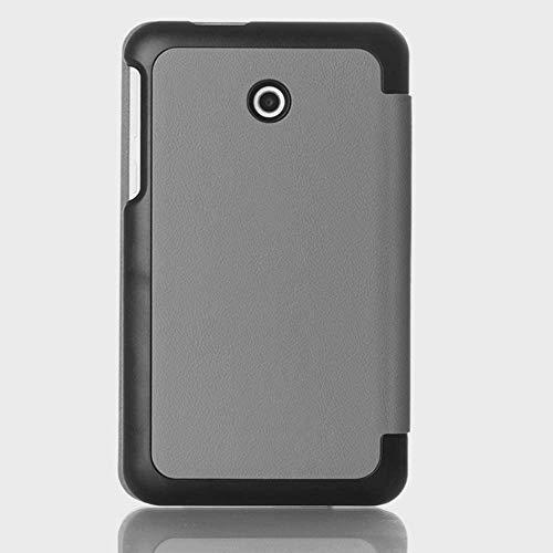 Schutzhülle für Asus FonePad 7 FE170CG K012 ME70C K01A Memo Pad 7 ME70CX K017 7 Zoll Tablet Smart Cover Ultra Slim Folio Stand Sleep/Wake Up Lederhülle (1 Grau)