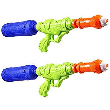 Vextronic Water Guns for Kids 2 Pack Super Soaker Water Gun Squirt Toys 1000CC Water Blaster Squirt Gun Outdoor Water Fighting for Boys Girls Children Summer Swimming Pool Beach Water Play Toys