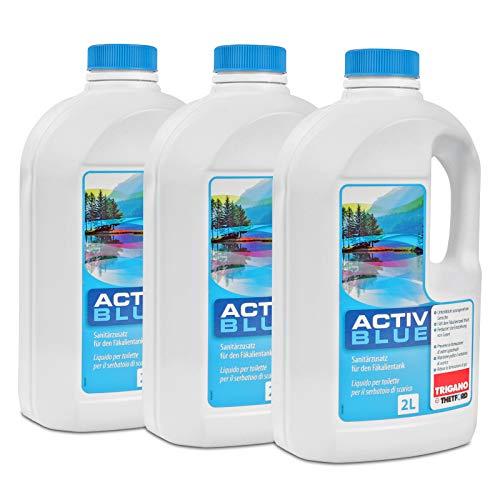 Thetford Activ Blue Toiletten Zusatz für den Abwasserbehälter 6 Ltr