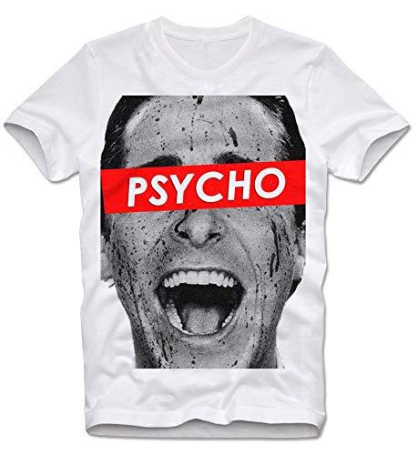 T Shirt American Psycho Christian Bale Videotapes Cult Serial Killer Bateman Axt Retro Vintage S