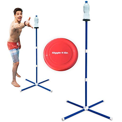 GIGGLE N GO Outdoor Games for Kids - Yard Games, Sports Gifts for Boys, Girls. Teenage Boy Gifts, Only One That Can Be Played on All Surfaces. Teen Boy Gifts for Lawn, Beach, Camping or Outside Games