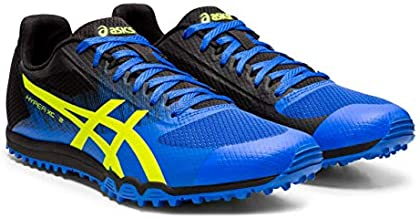 ASICS Hyper XC 2 Track & Field Shoes, Illusion Blue/Hazard Green, 11.5 M US