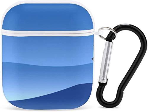 Airpods Case Illustration - Llavero a prueba de polvo y caídas para niños, adecuado para mujeres y hombres, protección completa, carga inalámbrica y auriculares