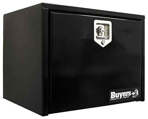 Buyers Products - 1702300 Black Steel Underbody Truck Box w/ T-Handle Latch (18x18x24 Inch)