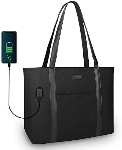 MONSTINA Laptop Tote Bag 15 6inch Laptop Purse Work Bag for Women Multiple Compartments product image