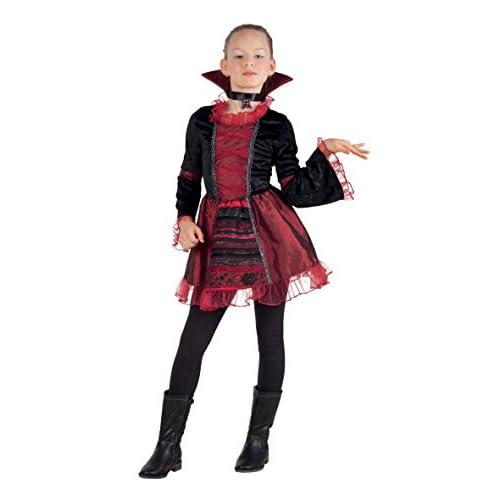 Boland- Costume Bambina Vampire Empress, Rosso/Nero, 7-9 anni, 78055