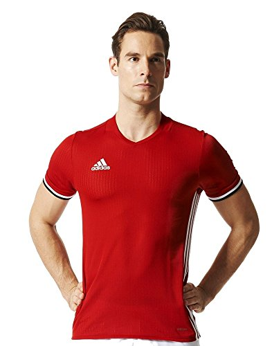 adidas Herren Trikot Condivo 16, Rot (Power Red/White), S, AC5234