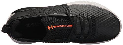 Under Armour Men's Drive 4 Low Basketball Shoe, Black (005)/Glacier Gray, 8
