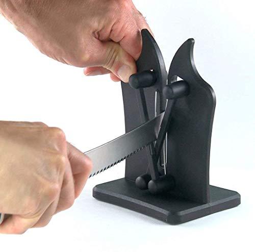 QIYUE Classic Messenslijper Triple-Action Oostenrijkse Tungsten Carbide, Chef's Knives - Veilig, gemakkelijk te gebruiken Kitchen Tools