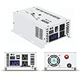 WZRELB 800w 12v 120v DC AC Power Inverter Converter Pure Sine Wave Solar Generator for Home