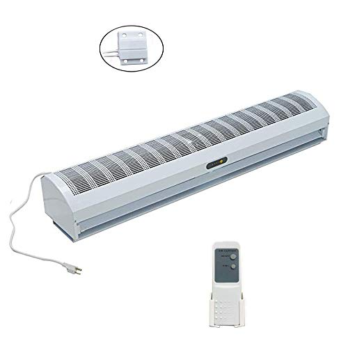 Wostore 48 Inch Air Curtain Super Power 3 Speeds Commercial Indoor Household with Free Magnetic Door Switch