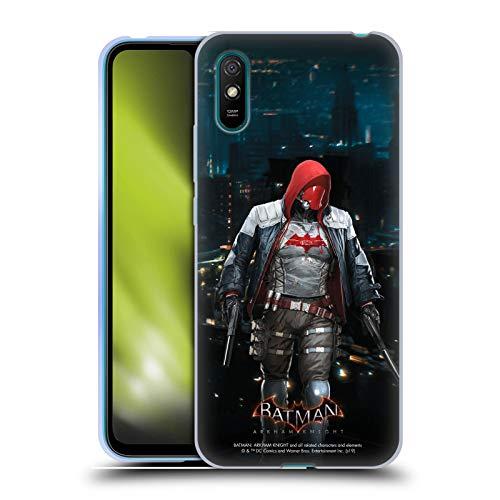 Head Case Designs Oficial Batman: Arkham Knight Capucha Roja Personajes Carcasa de Gel de Silicona Compatible con Xiaomi Redmi 9A / Redmi 9AT