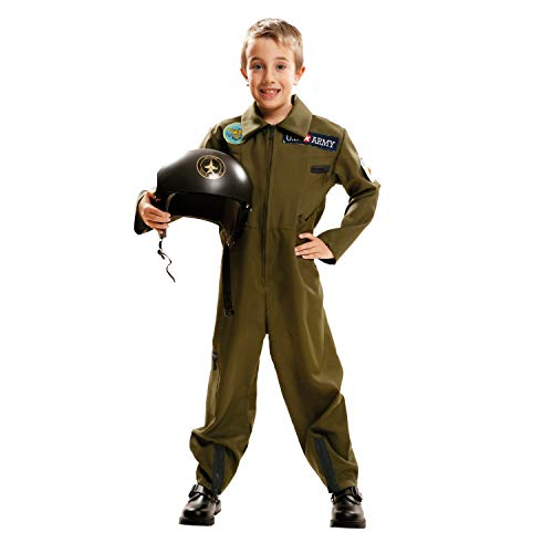 My Other Me Me-202086 Disfraz Top Gun para niño, color grun, 5-6 años (Viving Costumes 202086)