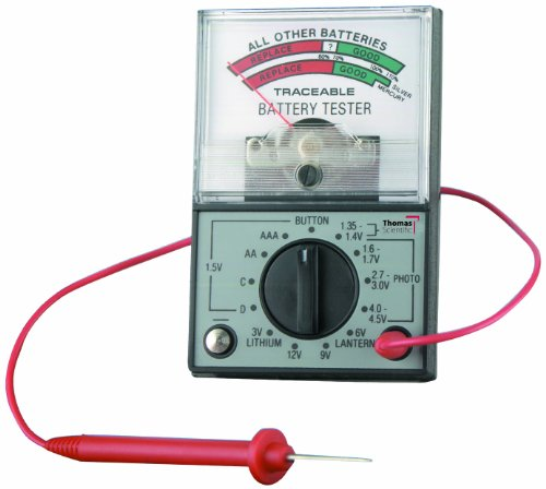 Save %10 Now! Thomas 3410 Traceable Battery Tester, 5 Percent Accuracy, 1.35V-12V Test Battery