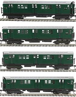 MTH TRAINS; MIKES TRAIN HOUSE MTA R-21 4 CAR Subway Set