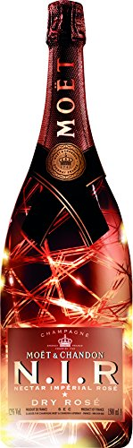 Moët & Chandon Luminous Edizione N.I.R. Nectar Imperial Dry Rose Champagne - 1500 ml