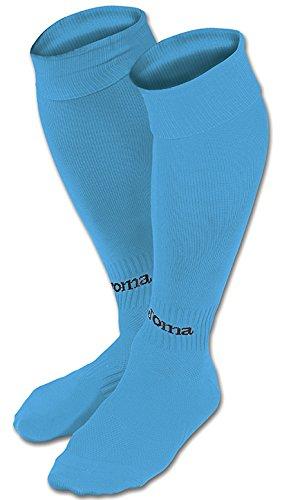 Joma Classic Calcetines de fútbol, Hombres, Azul Turquesa Fluor, M