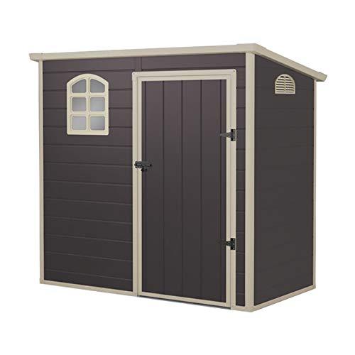 Gardiun KSP38105 - Caseta de Resina Flat Roof 2,12 m2