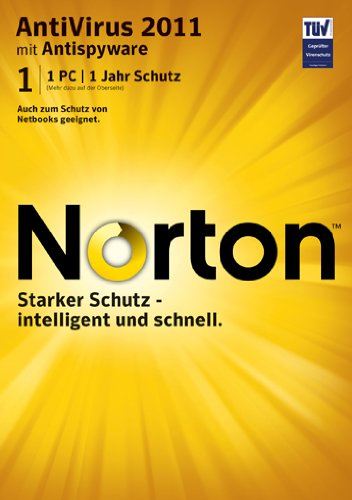 Norton Antivirus 2011 - 1 User [import allemand]