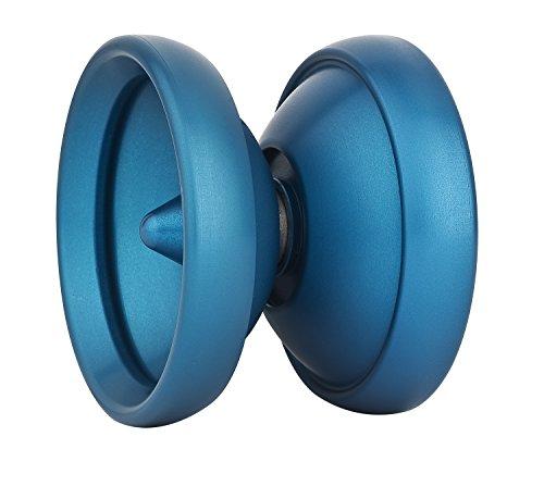 Henrys M1 yoyo enteramente de Aluminio en Azul, trickbuch Gecko-Pad Instalado; y...