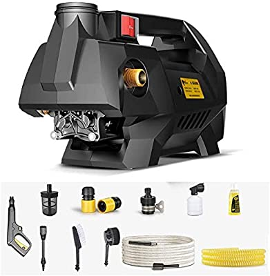 Handheld Electric Pressure Washer, Lightweight, Multipurpose For Home, Car Office, 1800W (Color : C) dljyy (Color : C) from Dljxx